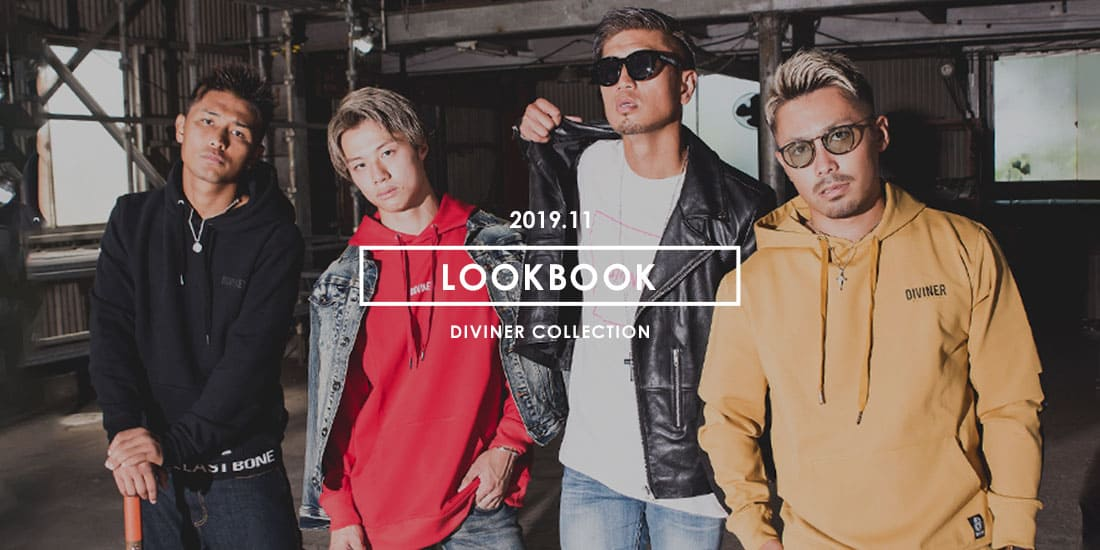LOOKBOOK 2019 AW feat. K-1 FIGHTER